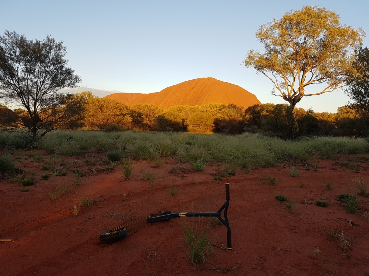 2017 Scooter at Uluru